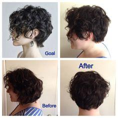 13. frisur für kurzes, krauses haar | kurzes haar | kurze