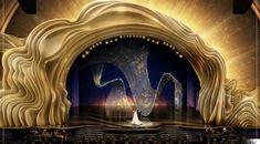 Swarovski lights up 2019 Oscars stage with over crystals. Swarovski is set to illuminate the 2019 Oscars stage in collaboration with award-winning creative director and designer David Korins. Tony Award, Bühnen Design, Design Elements, Design Ideas, Design Hotel, Desgin, Times Square, Stage Set Design, Interior Design Magazine