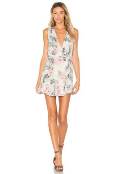 Privacy Please x REVOLVE Ryan Dress in Purple Floral
