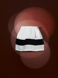 Women's heavy jersey bell-shaped skirt is decorated with a wide black velvet appliqué band - #bubbleskirt #ChristianLacroix #PetitBateau http://www.petit-bateau.fr?CMP=SOC_11732&SOU=&TYP=SOC&KW=pinterest