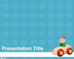 Early childhood powerpoint template is a free ppt template for wooden toys powerpoint template educational toneelgroepblik Images