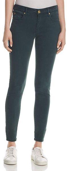 938f39e0d06b True Religion Jennie Curvy Skinny Jeans in Hunter Green mid. rise Hunter  Green