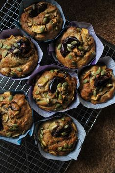 Muffins déjeuner d'automne