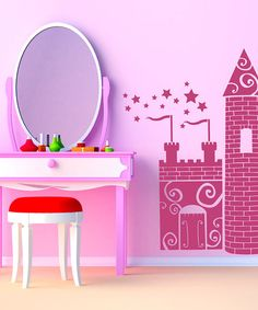 Take a look at this Princess Castle Wall Decal by Sissy Little on #zulily today!