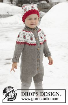 Ravelry: Run Run Rudolph pattern by DROPS design Fair Isle Knitting Patterns, Sweater Knitting Patterns, Knit Patterns, Knitting For Kids, Free Knitting, Baby Knitting, Drops Design, Christmas Knitting, Christmas Sweaters