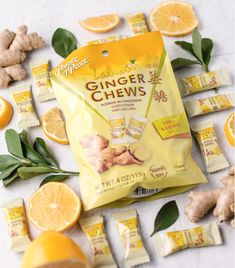 Our favorite citrus for the fall and winter season: Lemon! Is it one of yours? Our classic Ginger Chews get a burst of this zesty flavor combined with the timeless, spicy taste of ginger. Simply unwrap, chew and enjoy as a quick treat or to help comfort the stomach! #PrinceofPeaceGinger #POPGinger #MadeWithGinger #GingerCandy #GingerChews #Ginger #GingerBenefits #Citrus#HealthyCandy #HealthyTreats #Lemon #99RanchMarket #HMart #GNCLiveWell #Lemons #RiteAid #VitaminShoppe… Ginger Benefits, Healthy Treats, Taste Buds, Winter Season, Cravings, Spicy, Snack Recipes, Chips, Lemon