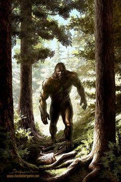 Bigfoot by ClaudioBergamin.deviantart.com on @DeviantArt