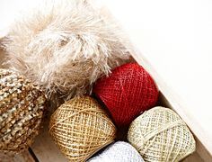 Festive knitting & crocheting yarns