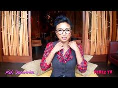 Just Ask Jeannie: Gemma - Clothes for Larger Busts    Jeannie Mai, host of the Emmy-nominated show How Do I Look, answers fashion questions sent in by her fans. This episode she discusses how to dress a bigger bust. See more at http://iheartjeanniemai.com/?p=3829 and http://cocoperez.com/2011-06-16-jeannie-mai-on-dressing-girl-with-a-large-bus....