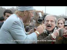 John McCririck gets hot under the collar with Tiziano Crudeli  - Ladbrokes