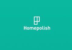 Homepolish Visual Identity by Leo Porto, via Behance