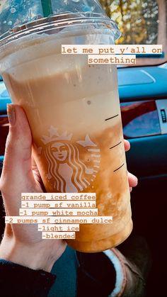 Café Starbucks, Starbucks Hacks, Bebidas Do Starbucks, Healthy Starbucks Drinks, Starbucks Secret Menu Drinks, Coffee Drink Recipes, Coffee Drinks, Iced Coffee, Smoothie Drinks