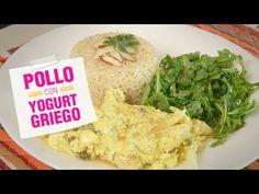 Receta de pollo con yogurt griego - YouTube