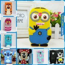Cute Minions Back Pouzdro pro Samsung Galaxy Trend Duos S7562 7562 \ Galaxy S Duos 2 S7582 \ Trend Plus S7580 silikonová pouzdra (Čína (pevninská část))