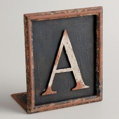 One of my favorite discoveries at WorldMarket.com: A Letter Bookend