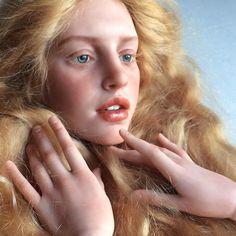 Михаил Зайков создаёт потрясающе реалистичные куклы, от которых мурашки по коже