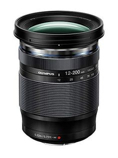 """Olympus M.Zuiko Digital ED 12-200mm F3.5-6.3 Lens, for Micro Four Thirds Cameras Versatile 16.6x zoom Dustproof & splashproof 8.7"""" Close minimum focusing distance 24-400mm equivalent Includes Lens hood Appareil Photo Olympus, Small Camera, Lens Flare, Cleaning Kit, Zoom Lens, Focal Length, Shutter Speed, Ghost Pictures"""