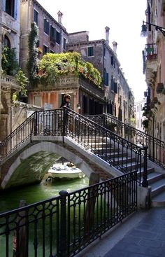 Venice, Italy.  This is the most romantic city I have visited - even more romantic than Paris!