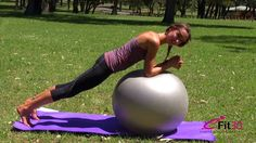 Fitball Core Strength Workout