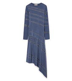 Tory Burch Silk Long-sleeve Dress