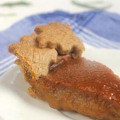 Butternut Squash Pie with Candied Sage | Lorimer Street Kitchen