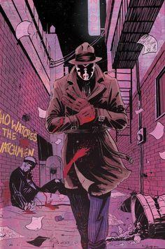 Rorschach from Watchmen. #rorschach #watchmen #comics