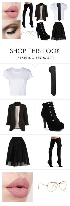 """caiden 2"" by tay-mew on Polyvore featuring RE/DONE, Dolce&Gabbana, Topshop and Commando"