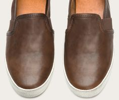 FRYE | Dylan Slip - Dk Brown, as comfy as they look