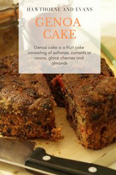 Still delicious, but a little less fruity, our Genoa cake is just right if you like your fruit cake that little bit lighter. Traditional Fruit Cake Recipe, Whole Food Recipes, Cake Recipes, Nuts Online, Baking Supplies, Dried Fruit, Raisin, Lighter