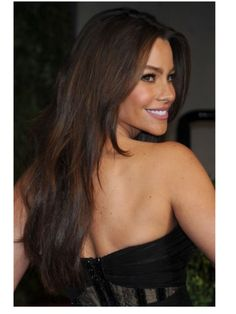 Superb Sofia Vergara Light Golden Brown Hair Color Perfect Length Hairstyles For Women Draintrainus
