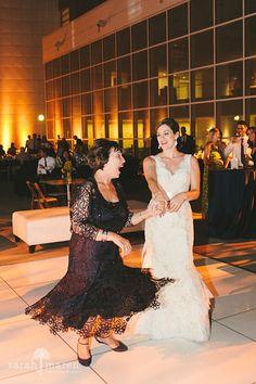 Crocker Art Museum Wedding Photos - mother and bride dancing - Sarah Maren Photographers
