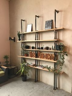 Clear up some space in your house while bringing some of that rustic charm into your home decor with rustic wall shelves! Take a peek at the 4 reasons these beautiful wall shelves are a must-have. Oak Floating Shelves, Rustic Wall Shelves, Narrow Shelves, Home Improvement Contractors, Home Improvement Projects, Diy 2018, Shopkins, Barn Wood Decor, Asmr