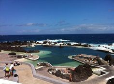 Lava Pools in Porto Moniz, Madeira, Portugal.