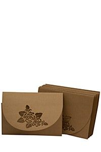 10 PACK LASER CUT ENVELOPE SET 30