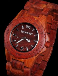 Watches made of wood !