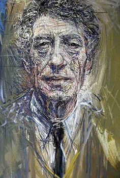 """Basically, I no longer work for anything but the sensation I have while working"" - Alberto Giacometti. Portrait by Pierluigi Romani? A DIW Favorite - Inspiration for Women Makers, Artists and Creatives Alberto Giacometti, Giovanni Giacometti, Figure Painting, Figure Drawing, Painting & Drawing, Encaustic Painting, Art And Illustration, Figurative Kunst, Art Brut"