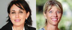 De gauche à droite, Nabila Mounib, SG du Parti socialiste unifié (PSU) et Erika Ferrer, ambassadrice de Suède Erika Ferrer | DR