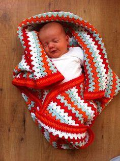 Een babydeken haken: het resultaat waar je het voor doet!