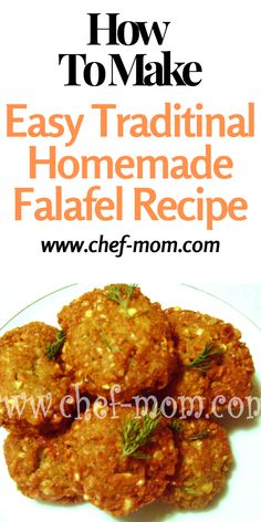 how to make easy traditional homemade falafel recipe,for vegan or any one looking for new recipe in Mediterranean kitchen , healthy and easy best fried falafel recipe#falafelrecipe #mediterraneanrecipes Vegan Breakfast Recipes, Breakfast Dishes, Healthy Chicken Recipes, Side Dish Recipes, New Recipes, Amazing Recipes, Best Falafel Recipe, Mediterranean Recipes, Mediterranean Kitchen