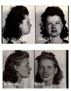 23 Vintage Bad Girl Mugshots Kinda makes you wonder, doesn't it? A lot of these are from Minneapolis.