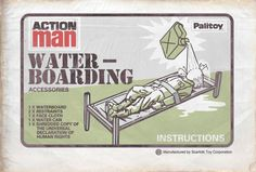 Action Man Waterboarding Accessories (early 1970s)
