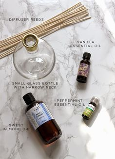 How to Make a Home Fragrance Diffuser with Essential Oils | www.swoonworthy.co.uk