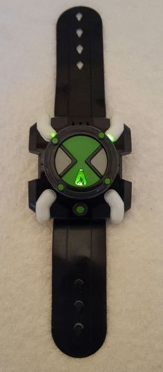c2d1a6731cb Ben 10 FX Omnitrix Wrist Watch Lights sounds - Bandai 2006