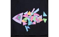 Estampado para el top Crep Peix #Pez #Camiseta #HechoEnBarcelona #Geometrico
