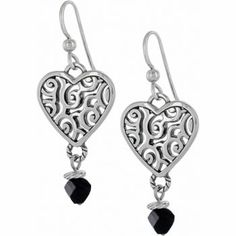 brighton re-deco heart earrings - one of my new favorites