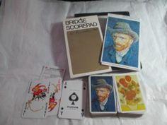 Bridge Card Lot Official Vinyl Table Cover 4 Place Mats Double Deck Van Gogh | eBay