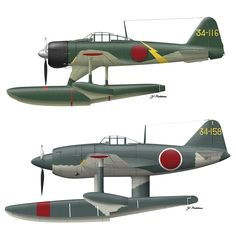 Amazon | ハセガワ 1/72 二式水上戦闘機&強風 第934航空隊 コンボ 2機セット | プラモデル 通販 Navy Aircraft, Military Aircraft, Air Fighter, Fighter Jets, Fighting Plane, Propeller Plane, In The Air Tonight, Imperial Japanese Navy, War Thunder