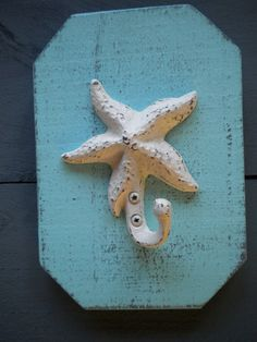 Single Starfish Hanger Mounted on a Piece of by JBSBeachcomber, $15.00