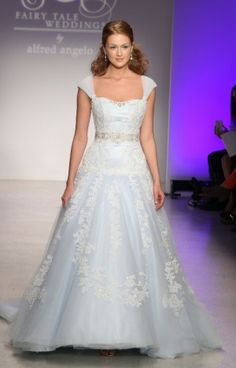 Alfred angelo blue wedding dress 2013 2 - Wedding Dresses  there are so many beautiful blue wedding gowns....you really can do what you want, Rhonda!!!