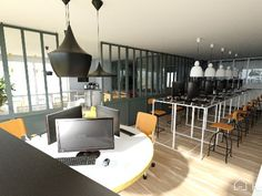Imagine your office in 3D for free with Homebyme!